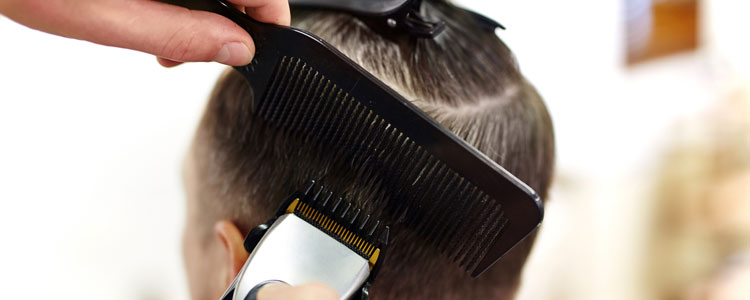Barbershop in Duncan, Oklahoma